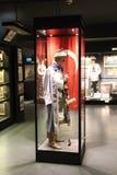 Hisart, eerste van de Wereld en slechts het leven Diorama van het geschiedenismuseum Stock Fotografie