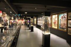 Hisart, monde premier et seulement diorama vivant de musée d'histoire Images stock