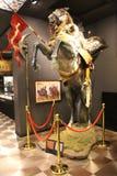 Hisart, mundo primer y solamente diorama viva del museo de la historia Imagenes de archivo