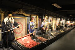 Hisart, Welt erster und nur lebendes Geschichtemuseums-Diorama Lizenzfreies Stockbild