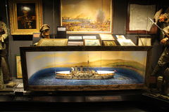 Hisart, World's first and only living history Museum Diorama. Stock Photos