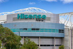 Hisense Arena in Melbourne Stock Image