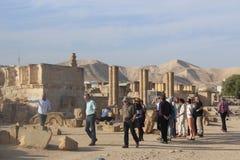 Hisham's Palace in Jericho, West bank Stock Photography