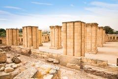 Hishams slott i Jericho arkivbild