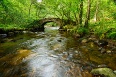 Hisley Bridge on Dartmoor Royalty Free Stock Images