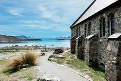 Hisnande natur av Nya Zeeland Arkivbild