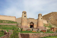 Hisor (Hissar) fortress in Hisor city, Tajikistan Royalty Free Stock Images