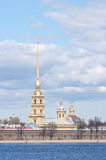 The hisorical cathedral peterpau fortress Stock Photo