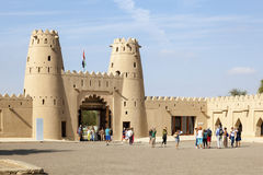 Hisotirc Jahili fort in Al Ain, UAE Stock Image