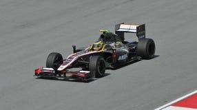hispania водителя f1 bruno участвуя в гонке сенна Стоковые Изображения