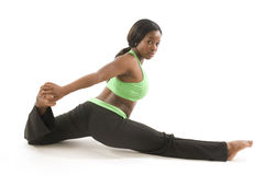 hispanic african american woman exercising dance Stock Photography
