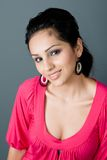 Hispanic Beauty Stock Photo