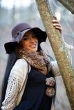 Hispanic beauty outdoor Stock Photography
