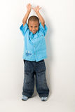 Hispanic boy 6 Royalty Free Stock Images