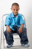 Hispanic boy 9 Royalty Free Stock Images