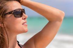 Hispanic Brunette Model Stock Photos