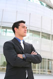 Hispanic Business Man Stock Photography