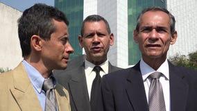 Hispanic Business Men. Older business men or executives royalty free stock images