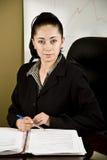 Hispanic business woman Stock Photo