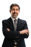 Hispanic Businessman With Arms Crossed Royalty Free Stock Photography