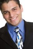 Hispanic Businessman Smiling Royalty Free Stock Photography