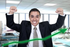 Hispanic businessman successfully Stock Photo