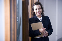 Hispanic businesswoman Stock Photography
