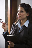 Hispanic businesswoman Stock Photo