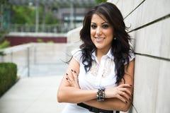 Hispanic businesswoman Stock Photos