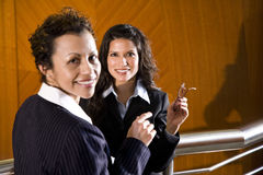 Hispanic businesswomen Stock Photography