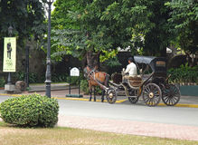 Hispanic carriage Royalty Free Stock Photo