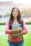 Hispanic college student Stock Photo