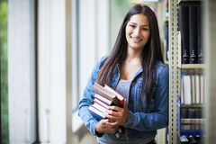Hispanic college student royalty free stock images