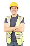 Hispanic costruction worker Stock Photography