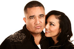 Hispanic Couple Royalty Free Stock Photo