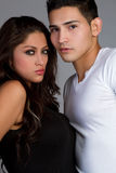 Hispanic Couple Royalty Free Stock Photography