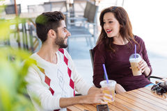 Hispanic couple Royalty Free Stock Images