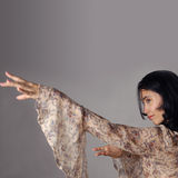 Hispanic dancer Royalty Free Stock Photography