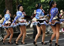 Hispanic Day Parade in New York Stock Photos