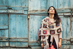 Hispanic Fashion Woman Royalty Free Stock Photography