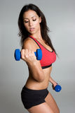 Hispanic Fitness Woman Royalty Free Stock Photography