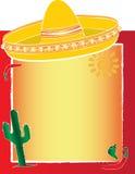 Hispanic Flag Background Royalty Free Stock Image