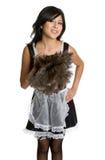 Hispanic French Maid Stock Image