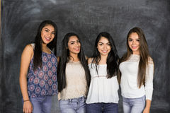 Hispanic Group of Friends Stock Photo