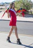 Hispanic International Day Parade Royalty Free Stock Image
