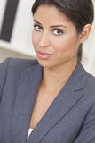 Hispanic Latina Woman or Businesswoman Stock Images