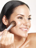 Hispanic makeup. Stock Images