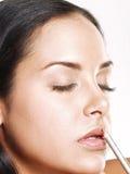 Hispanic makeup. Royalty Free Stock Images