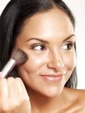 Hispanic makeup. Stock Photo