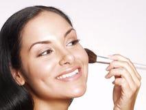Hispanic makeup. Stock Image